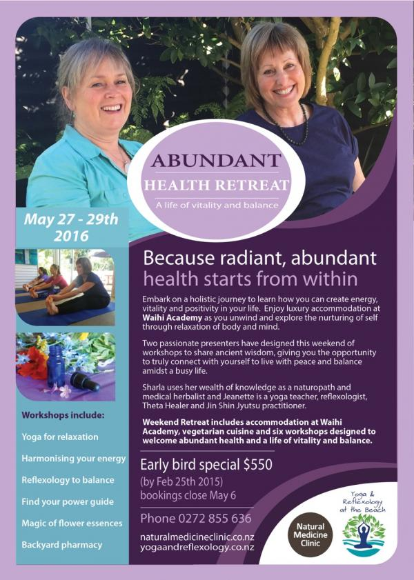 Abundant Health Retreat Web